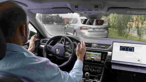Skoda' self-driving technology testing (Representational photo)