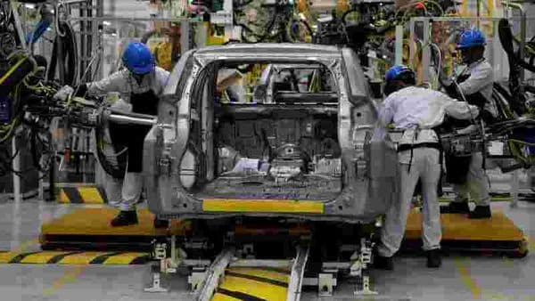 File photo of a car factory used for representational purpose (REUTERS)