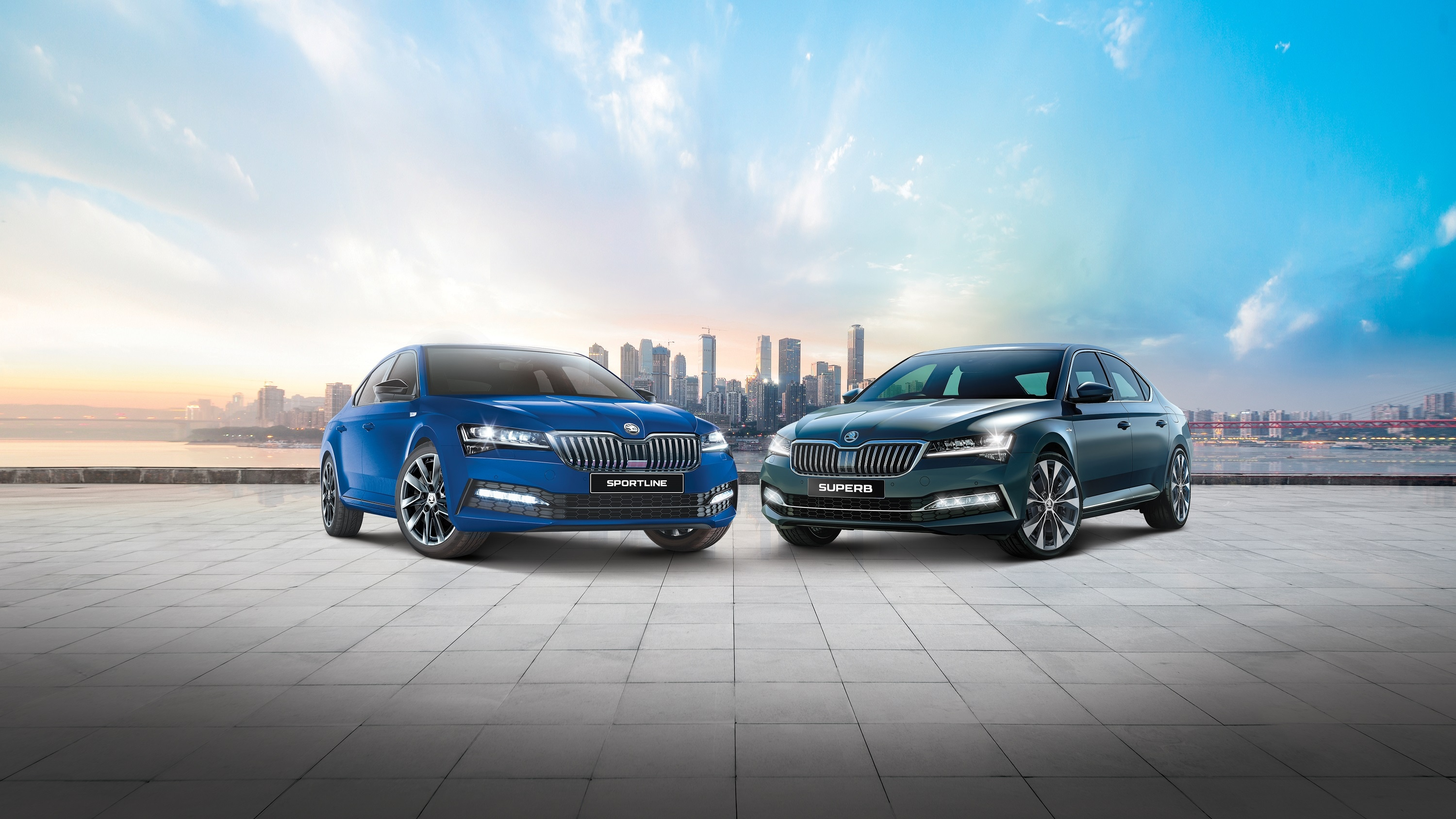 Skoda has unveiled the new range of Superb sedan which now gets several notable updates on the outside and offers cabin upgrades to occupants. Superb Laurin has been priced at <span class='webrupee'>₹</span>31.99 lakh while Klement is priced at <span class='webrupee'>₹</span>34.99 lakh (ex showroom).