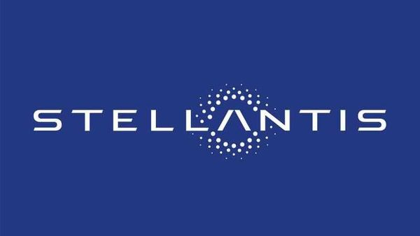 The logo of Stellantis is seen in this image provided on November 9, 2020. Communication FCA /Handout via REUTERS (via REUTERS)