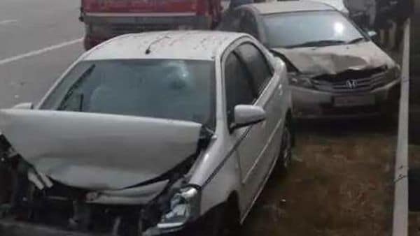 Representational image: Nine vehicles, including some cars, got piled-up on the EPE in Kasna police station area in the morning due to reduced visibility amid dense fog.
