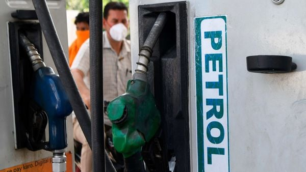 Record hike in taxes on petrol, diesel spikes excise duty collection. (File photo) (AFP)