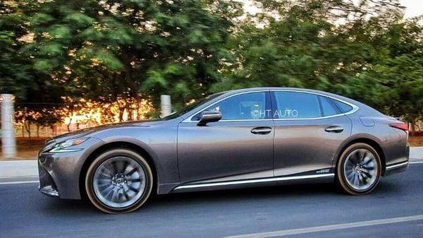 File photo of Lexus LS 500h luxury sedan