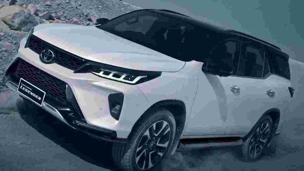 2021 Toyota Fortuner Legender has been priced at ₹37.58 lakh.