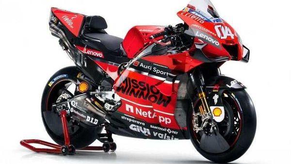 Ducati Desmosedici GP20 livery. Image Courtesy: MotoGP