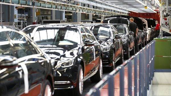 Carmakers in Japan are facing acute shortage of chips required vehicle manufacturing. (File photo used for representational purpose). (Bloomberg)