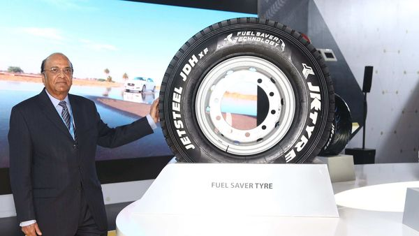 JK Tyre reported a multi-fold jump in consolidated net profit at ₹230.46 crore in the third quarter ended December. (Representational Image)