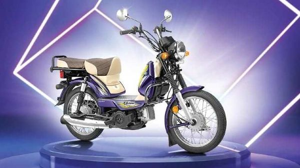 TVS XL100 Winner Edition sits at the top of the model's variant line-up.