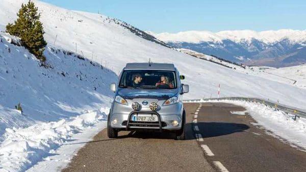 Nissan's all-electric e-NV200 Winter Camper concept