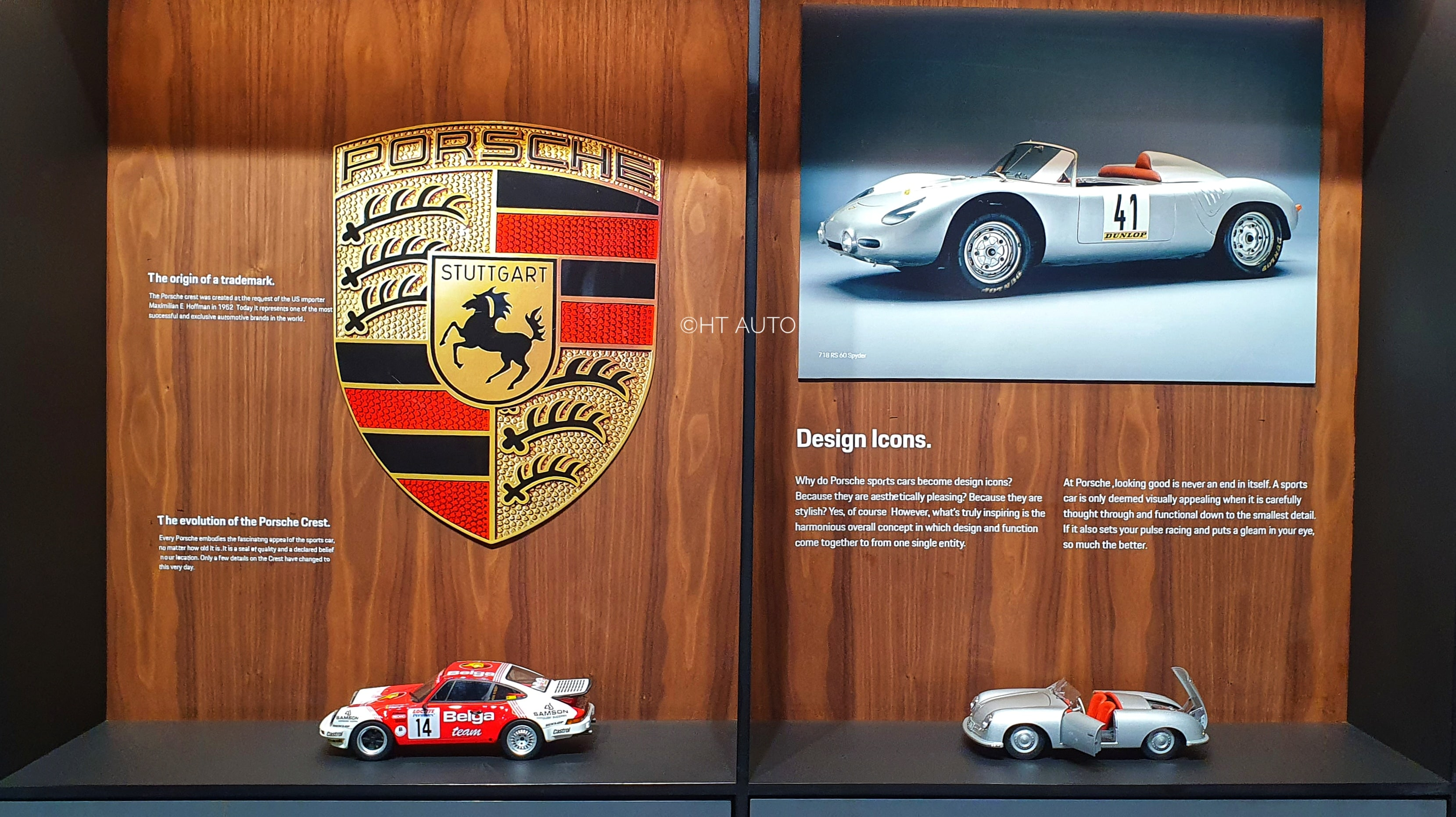 For the collectors, Porsche also offers a range of miniatures of some of its iconic models over the years, besides several memorabilia to dig in. (Sabyasachi Dasguptga/HT Auto)