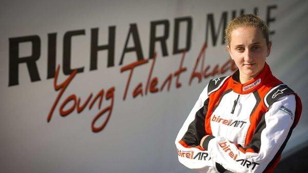Ferrari announced 16-year-old Dutch go-karter Maya Weug on Friday as the first female member of the Formula One team's driver academy.