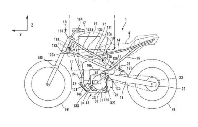 Overall, Honda's upcoming electric bike will more or less appear to be similar to the existing CB125R.