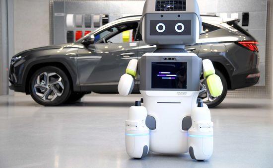 Hyundai's new humanoid robot