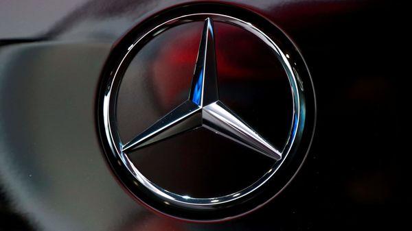 File image: The logo of German car manufacturer Mercedes-Benz