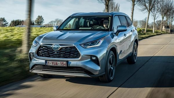 Toyota has launched hybrid version of 7-seater Highlander SUV in France.
