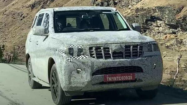 The new-gen Mahindra Scorpio will undergo a heavy cosmetic update. (Image Credits: Youtube/CarsZoid)