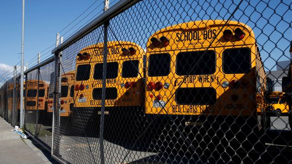 School buses in the US (File photo for representational purpose) (REUTERS)