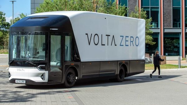 File photo of a Volta Truck (AFP)