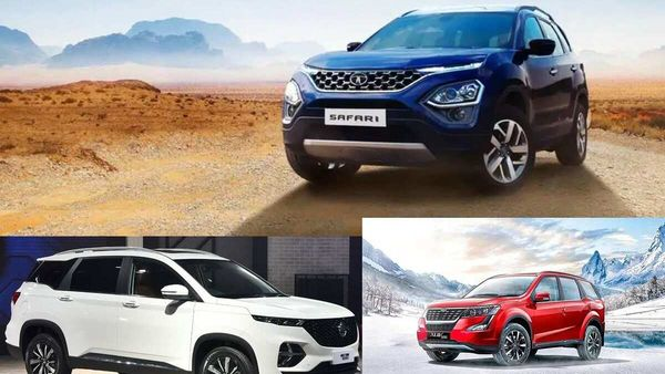 The new Tata Safari will be pitted against MG Hector Plus and Mahindra XUV500.