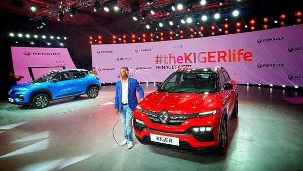 Renault is hoping to capture a chunk of the market share in the sub-compact SUV segment through Kiger. (HT Auto/Sabyasachi Dasgupta)
