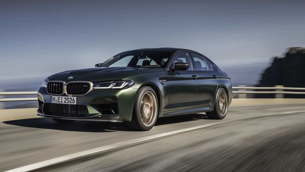 New BMW M5 CS 2022 is launched as the most powerful M in history.