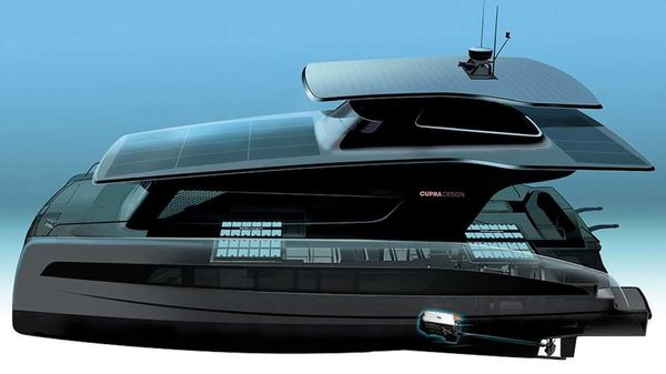 The solar-powered yacht from Volkswagen-Silent Yacht is expected to be launched in 2022.
