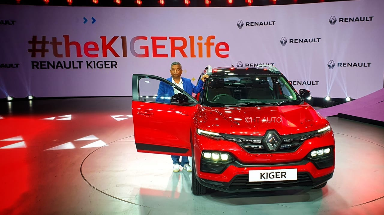 The Kiger will use two engine options - 1.0-litre turbocharged three-cylinder petrol engine delivering 100 PS and 160 Nm, and 1.0 L petrol engine with an output of 72 PS and 96 Nm. (Image: HT Auto/Sabysachi Dasgupta)
