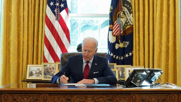 Joe Biden has been vocal about giving a push to electric mobility in the country. (REUTERS)