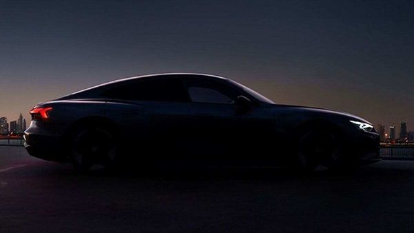 Audi to launch e-tron GT 2021 on Feb 9, shares teaser of its sporty silhouette.