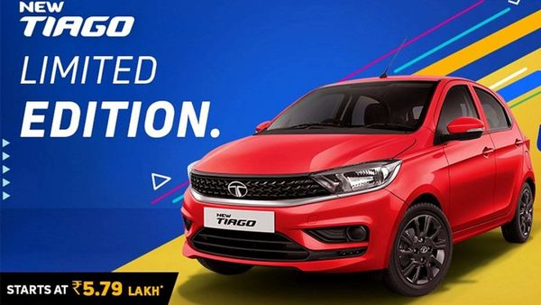 Tata Motors launches Limited Edition Tiago at ₹5.79 lakh.