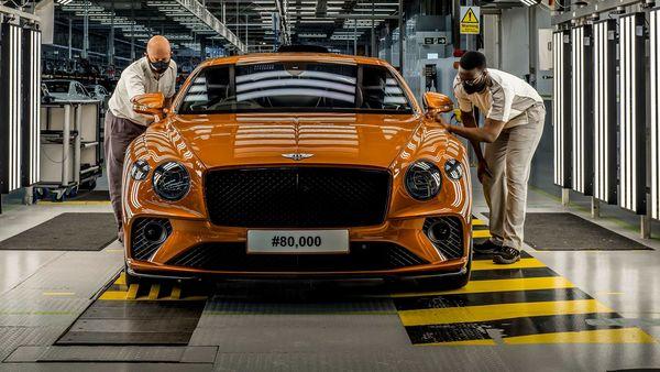 80,000th Bentley Continental GT
