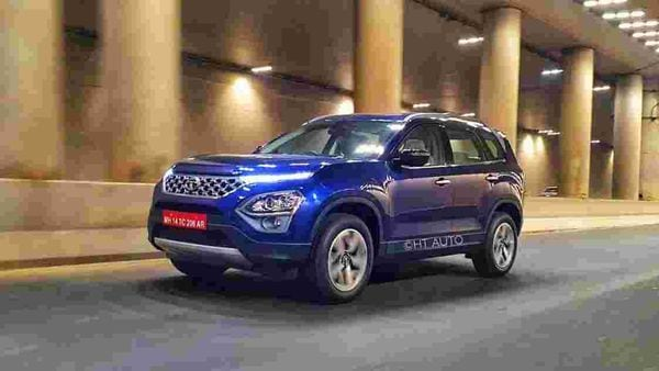 Tata Motors has officially revealed the completely new 2021 Safari SUV in India. The SUV's production has already been started and it is slated to launch in the first week of February. (Image: Sabyasachi Dasgupta/ HT Auto)