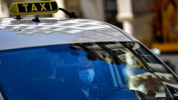 Accounts from taxi drivers and passengers in Paris suggested that people breaking curfew were more likely to be caught if they were on public transport than if they were in a taxi. (AP)
