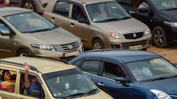Vehicle scrappage policy helps stocks of carmakers jump more than 10%. (File photo) (PTI)