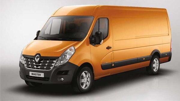 Renault Master van. (Image: Renault)