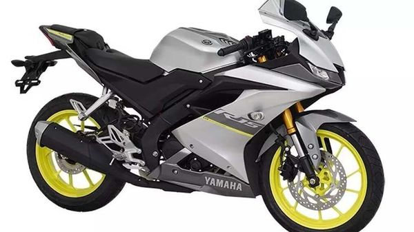 Representational image of Yamaha YZF-R15 2021 sportsbike in new colour schemes.