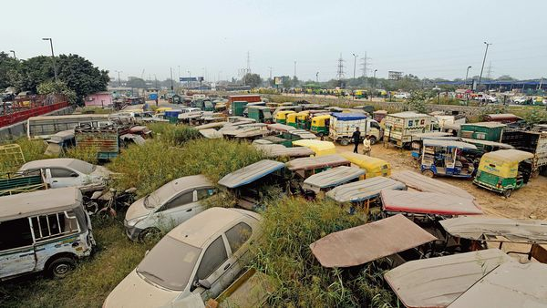 The scrappage policy will pave the way for new vehicles. (MINT_PRINT)