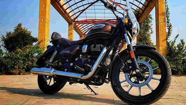 Meteor 350 is Royal Enfield's first bike to receive Tripper navigation system.