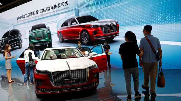 The potential acquisition by state-owned FAW, China's No. 2 automaker, comes at a time when Brilliance's top shareholder Huachen Automotive Group is on the brink of bankruptcy. (REUTERS)
