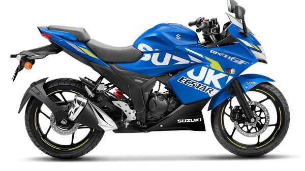 Representational image of Suzuki Gixxer SF BS 6 in MotoGP Edition.