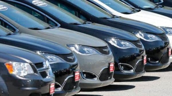 Representational Image: Cars are parked in an auto dealer lot. (AP Photo/Jeff Roberson) (AP)