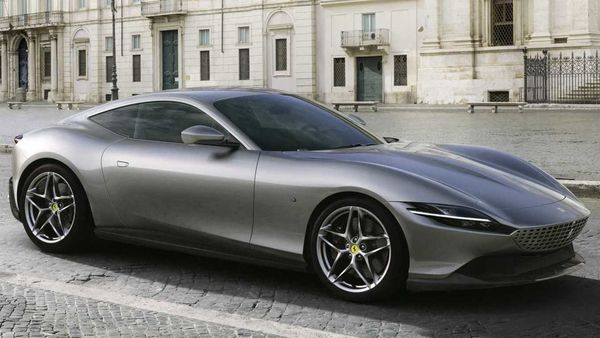 The new Ferrari Roma made its world debut a year ago.