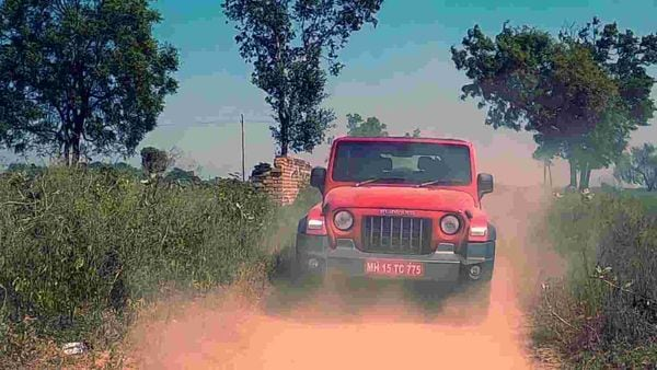 The new Mahindra Thar SUV was introduced in the country last year in October. (Photo - Sabyasachi Dasgupta)