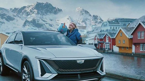 GM's first videos starred Ferrell hating the Nordic nation for no apparent reason.