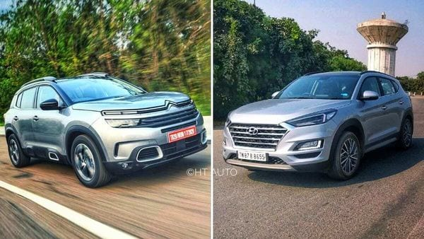 Citroen C5 Aircross, once launched, will primarily take on Tucson from Hyundai in the Indian market.
