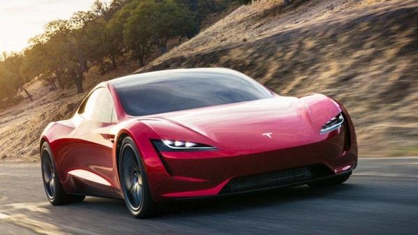 File photo of Tesla Roadster.