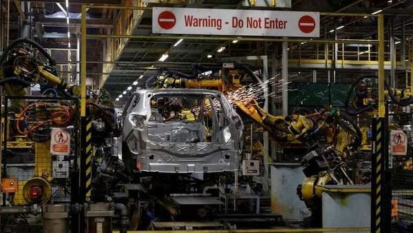 Representational File photo - A car is seen on the production line in a car plant. (REUTERS)