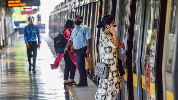 The Delhi Metro Rail Corporation (DMRC) in a series of tweets in the morning informed commuters that multiple stations have been closed. (Representational Image) (PTI)