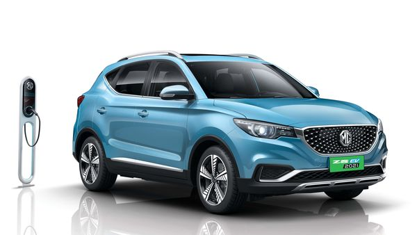 The ZS EV 2021 from MG now has an increased ground clearance.