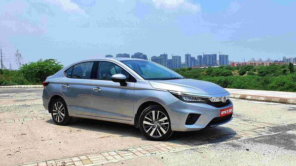 New Honda City takes styling cues from the Accord and Civic which greatly help it with its visual appeal. (HT Auto/Sabyasachi Dasgupta)